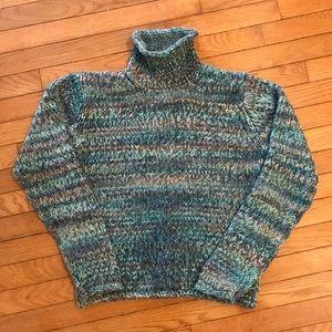 Women's Columbia Wool turtleneck sweater